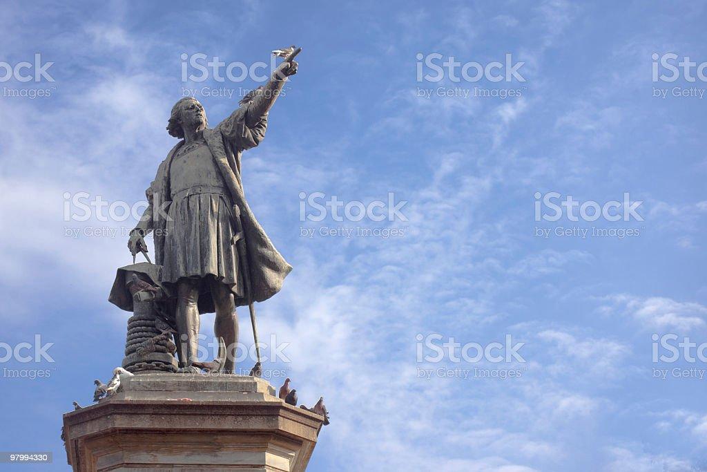 Christopher Columbus stock photo