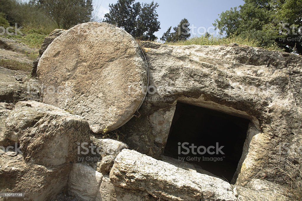 Christ's tomb royalty-free stock photo