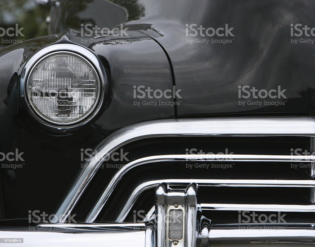 chrome and lights royalty-free stock photo