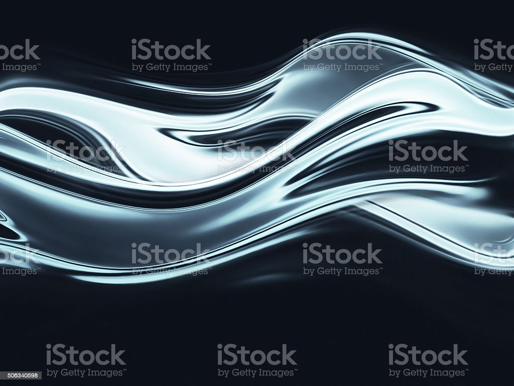 chrome background stock photo