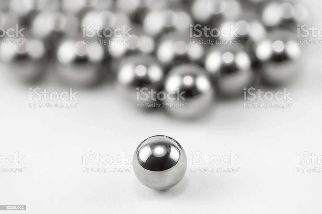 Chrome Balls stock photo