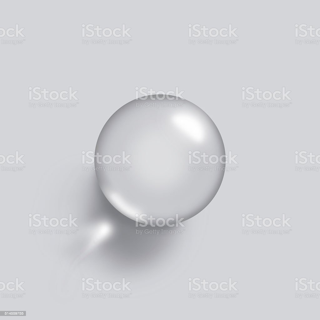 Chrome Sphere stock photo