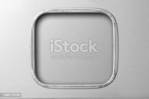 istock Chrome Stainless Steel Frame 1095725762