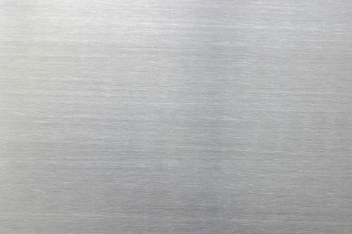 Chrome surface background with horizontal grain.Similar images -