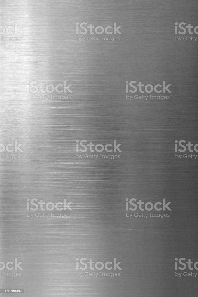 Chrome Texture stock photo