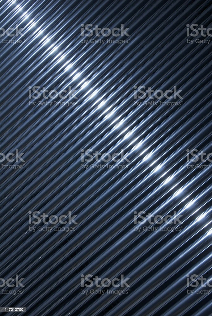 chrome tube background stock photo