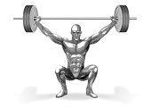 Chromeman_Weight Lifting