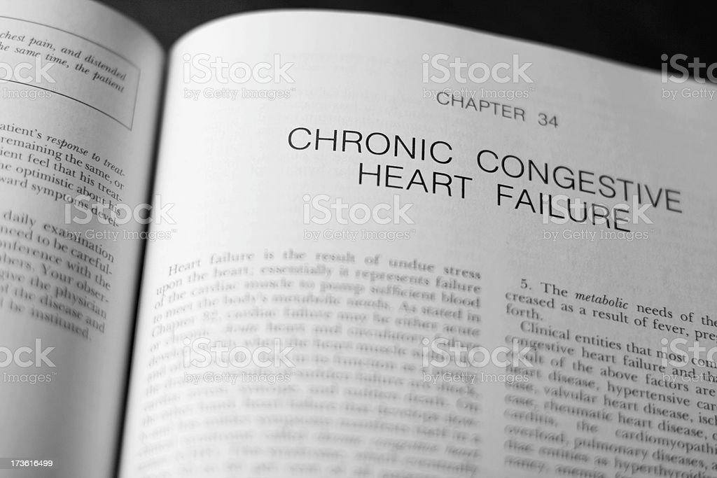 Chronic Congestive Heart Failure royalty-free stock photo