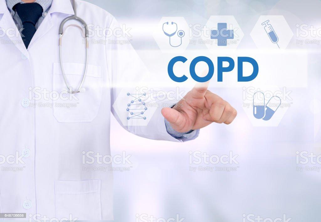 COPD chronisch obstruktive Lungenerkrankung – Foto