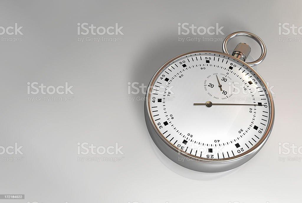 Chronograph 002 royalty-free stock photo