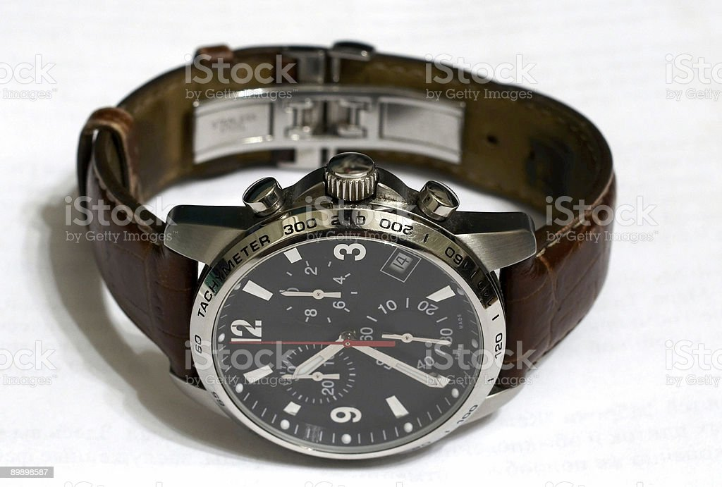 chronograph royalty-free stock photo