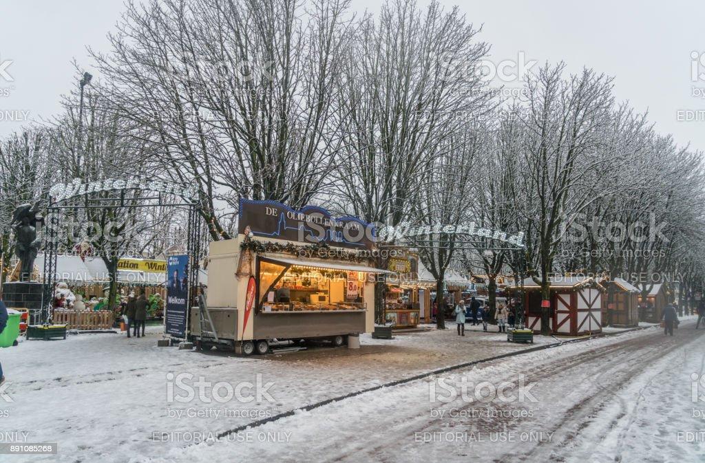 Chrostmas Markt in's-Hertogenbosch, Niederlande – Foto