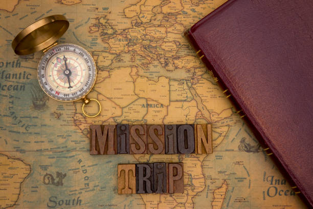 Chrstian Missions Throughout the World stock photo