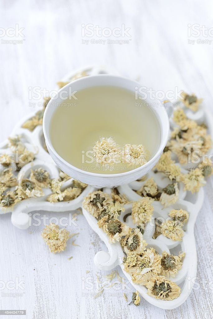 Сhrysanthemumic tea royalty-free stock photo