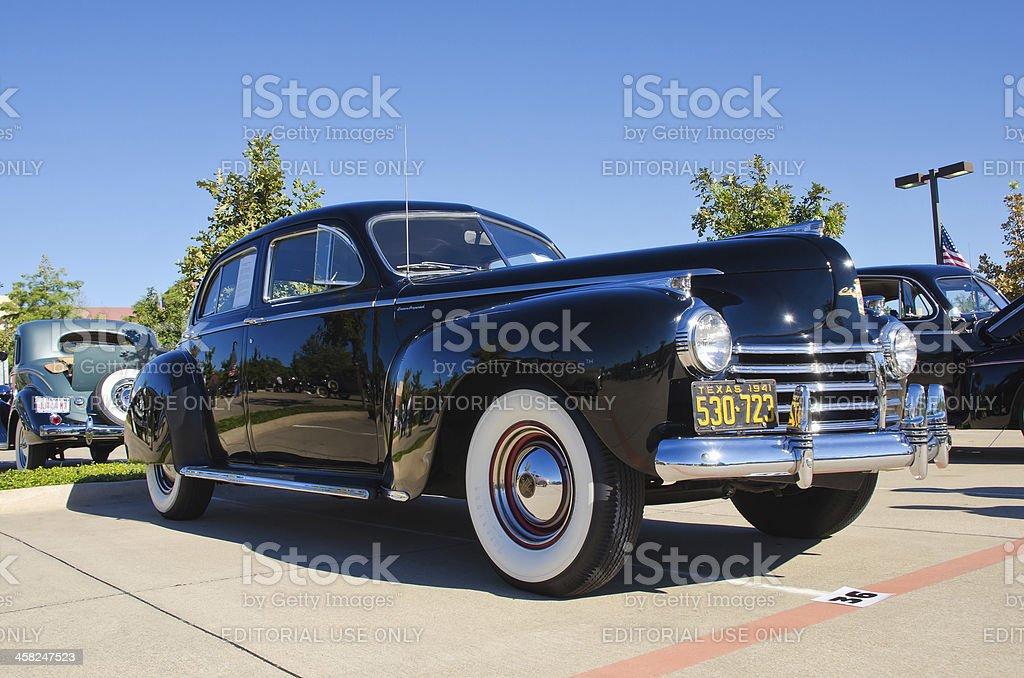 Chrysler 1941 Crown Imperial Town Sedan royalty-free stock photo