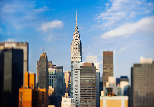 chrysler building, manhattan, new york city, usa - chrysler building stock photos and pictures