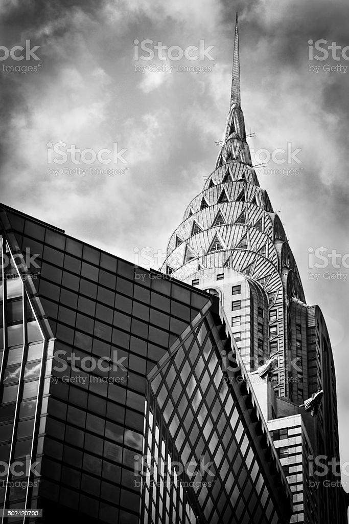 Chrysler Building, Manhattan, New York stock photo