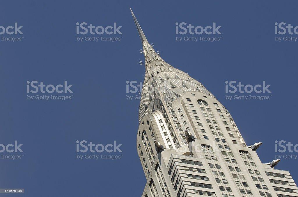 Chrysler Building , New York City stock photo