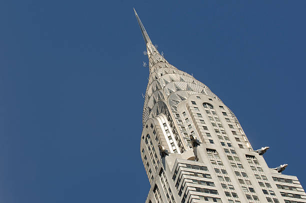 chrysler building , new york city - chrysler building stock photos and pictures