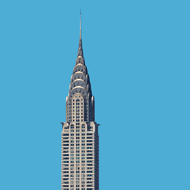 chrysler building, new york city - chrysler building stock photos and pictures