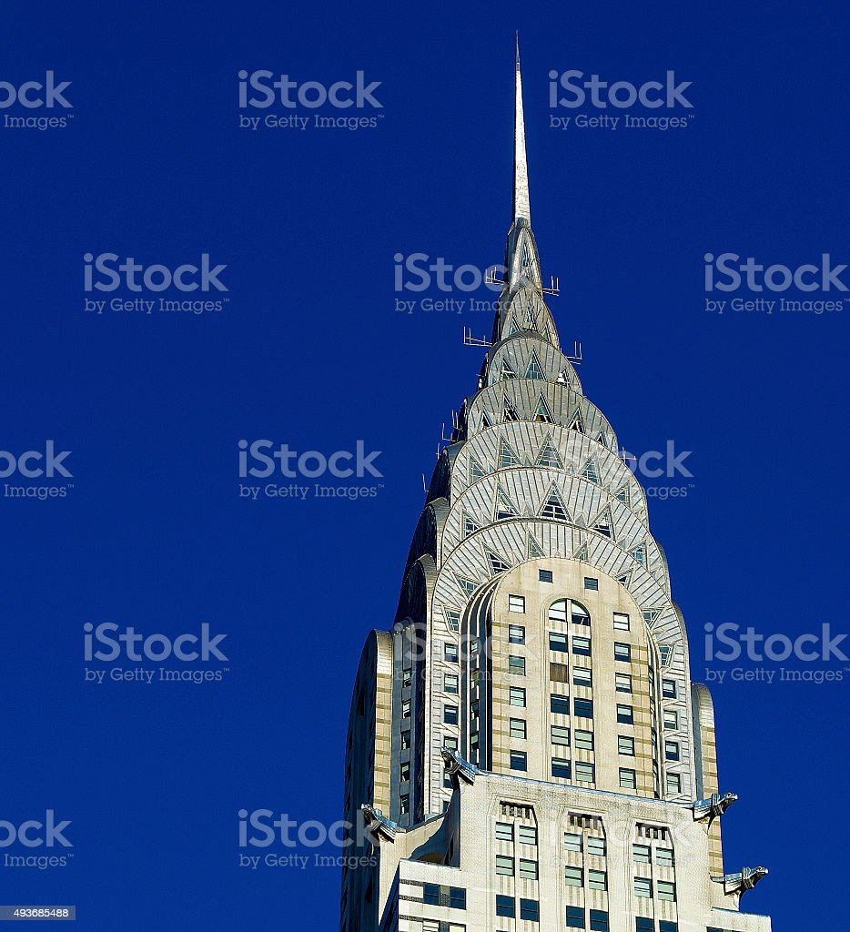 Chrysler Building New York City stock photo