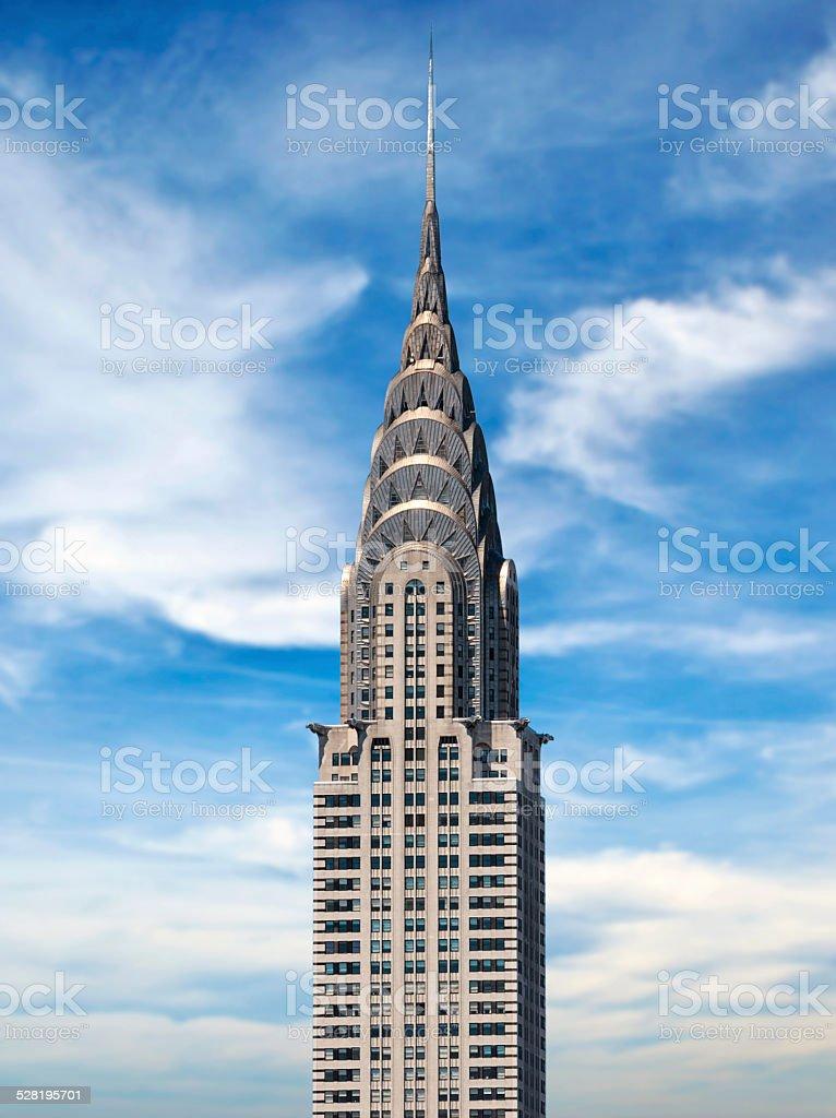 Chrysler Building, New York City stock photo
