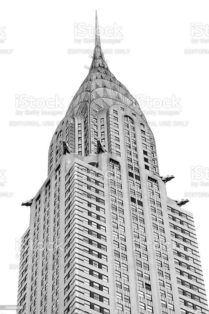 Chrysler building New York stock photo