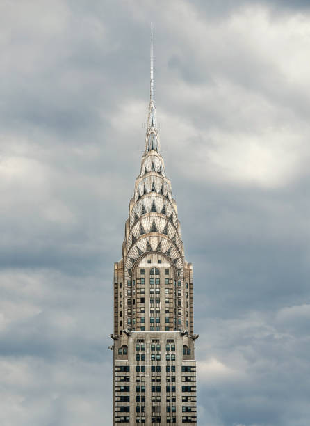 chrysler building, new york - chrysler building stock photos and pictures