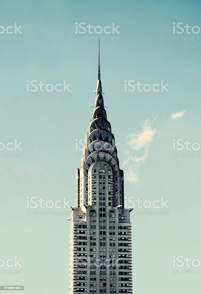 Chrysler Building stock photo