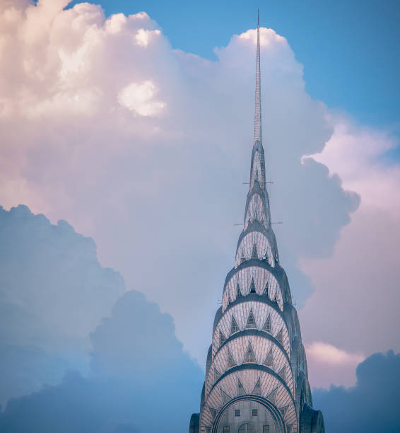 chrysler building - chrysler building stock photos and pictures