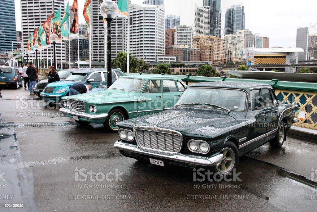 Chrysler cars stock photo