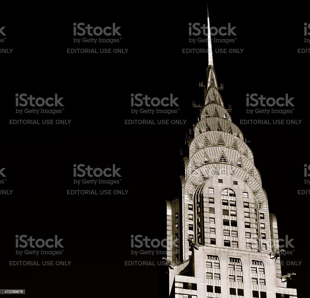 Chrysler Crown stock photo