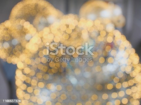 877010878 istock photo Chrystal candlestick close-up lights bokeh 1166637324