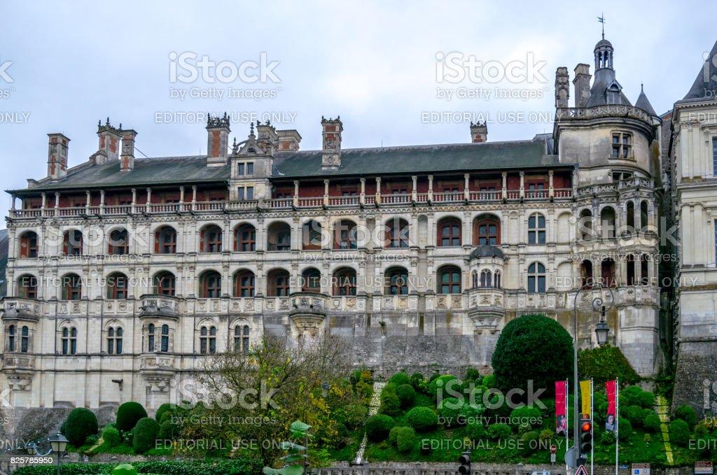Château de Blois, France. stock photo