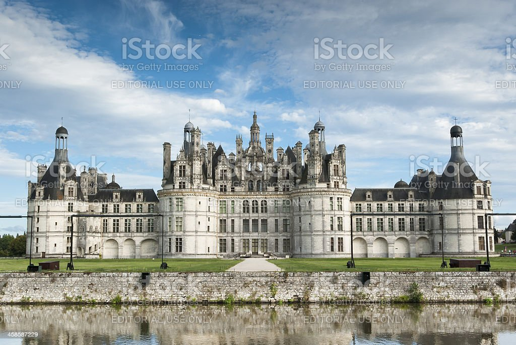 Château de Chambord stock photo
