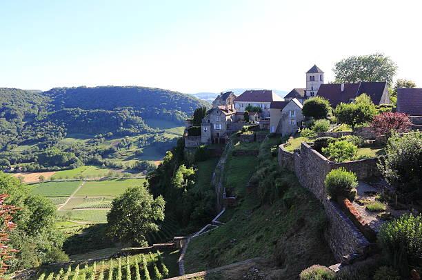 Château-Chalon, village of Jura - Photo