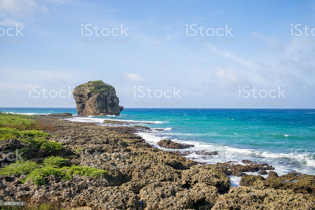 Chuanfan Rock royalty-free stock photo