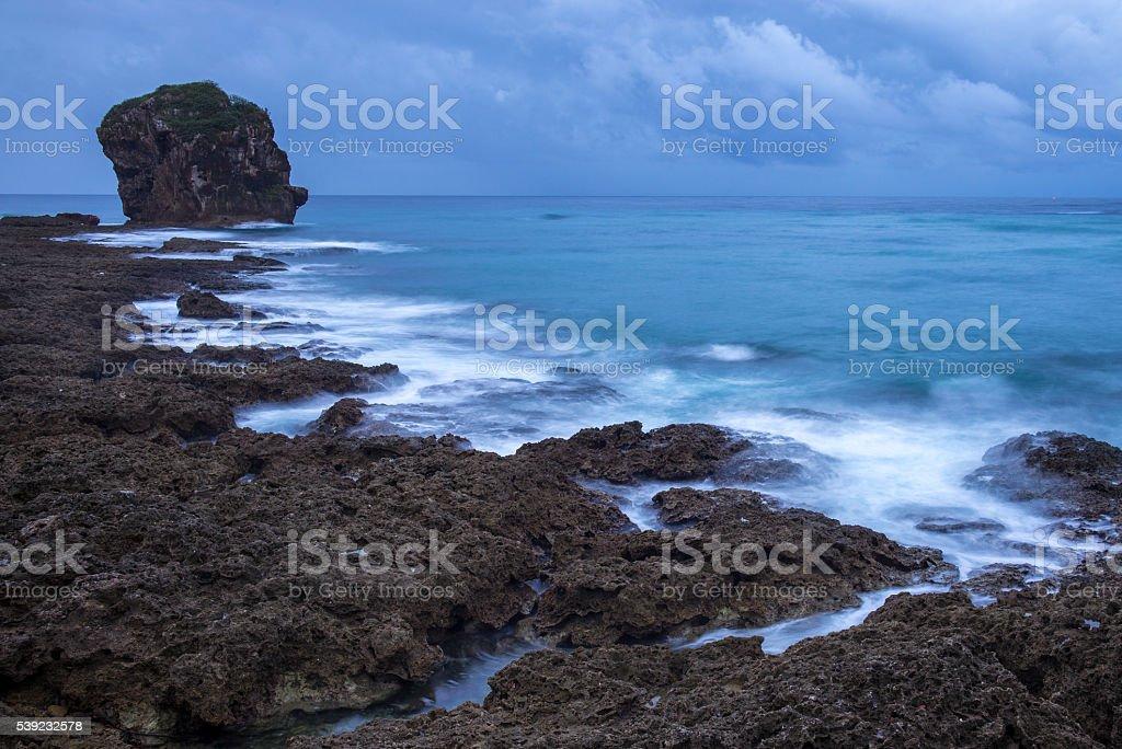 Chuanfan Rock foto royalty-free