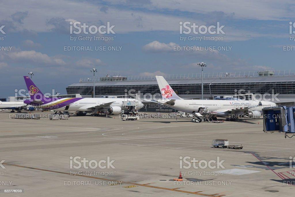 Chubu Centrair International Airport in Japan stock photo
