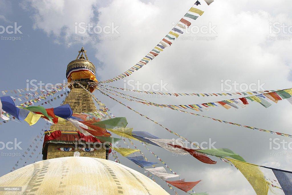 Chuchepati Buddha Temple royalty-free stock photo