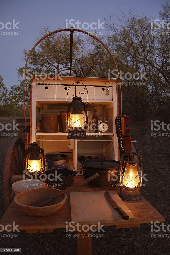 Chuck Wagon stock photo