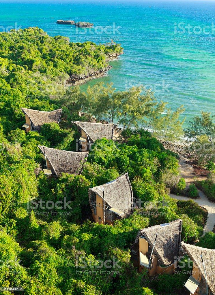 Chumbe Island stock photo