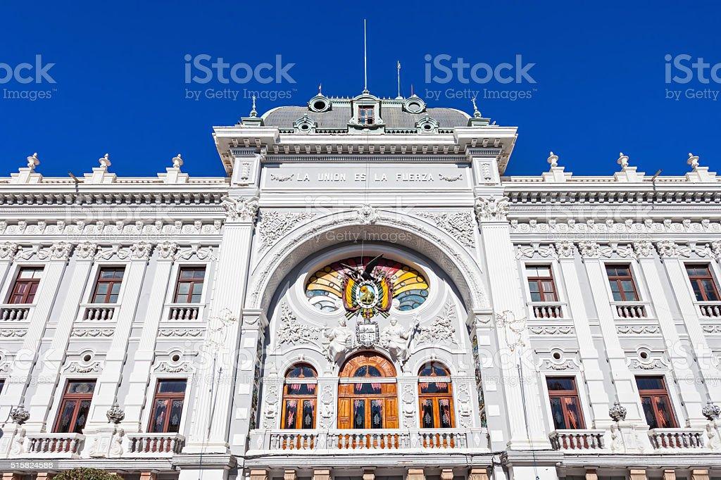 Chuquisaca Governorship Palace stock photo