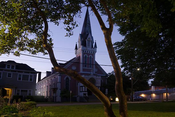 Church Across From Dawson Park - foto de stock