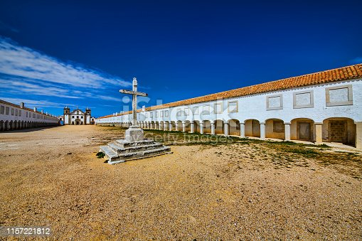 Church and sanctuary of Our Lady of the Cape, Cabo Espichel, Portugal