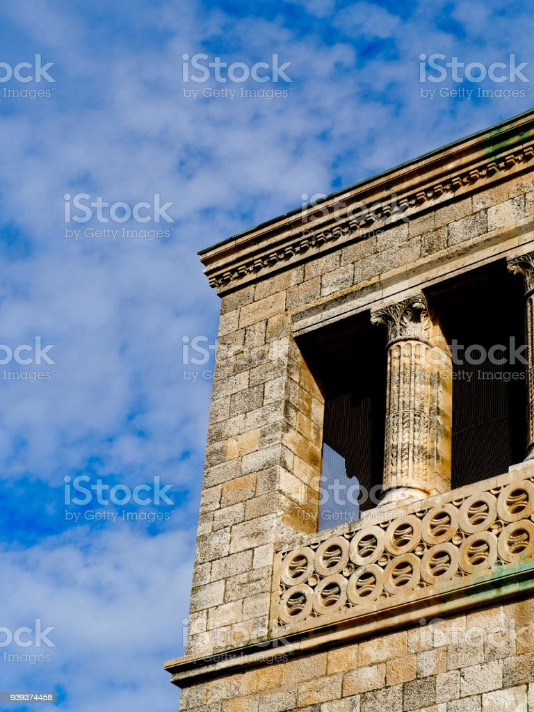Church Architecture in Israel stock photo
