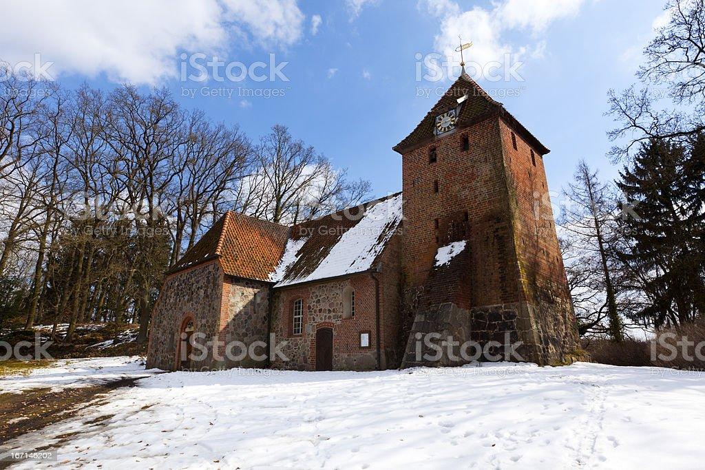 Church at Thomasburg royalty-free stock photo