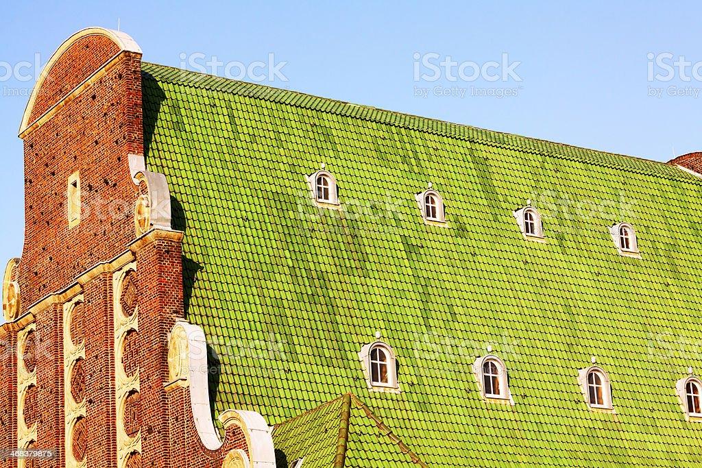 Church 'Auferstehungskirche' in Düsseldorf royalty-free stock photo