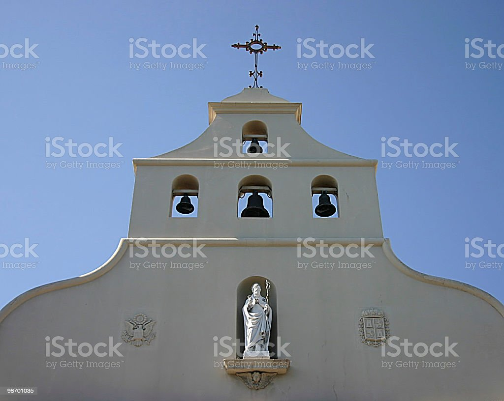 Chiesa bells foto stock royalty-free