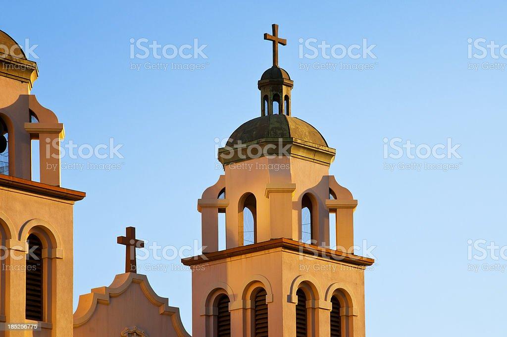 Church Belltower royalty-free stock photo